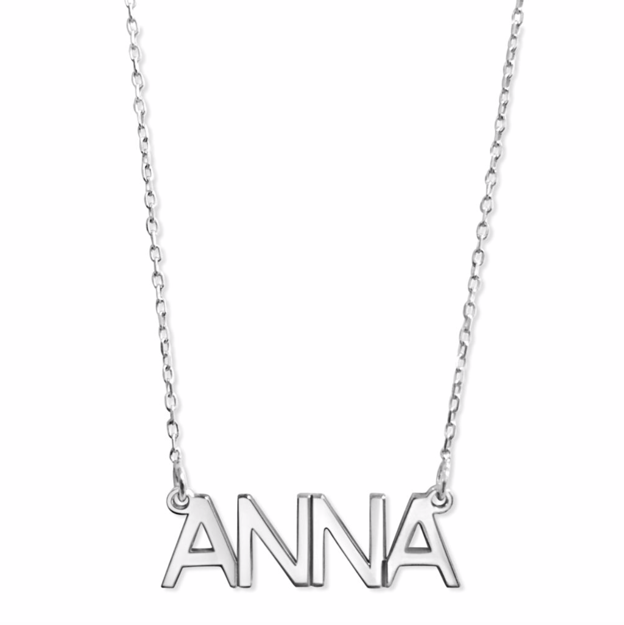 Capital Name necklace