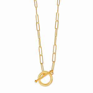 Large T-Bar Elia Necklace