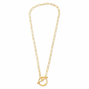 Small T-Bar Elia Necklace