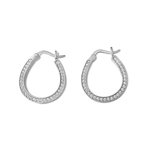 Bonne Chance Horseshoe Earrings
