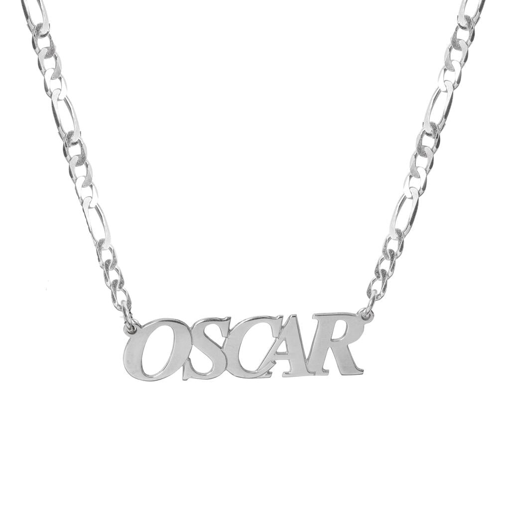 Men's Name Necklace