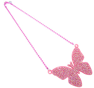 Large Butterfly Necklace
