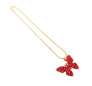 Petite Butterfly Necklace
