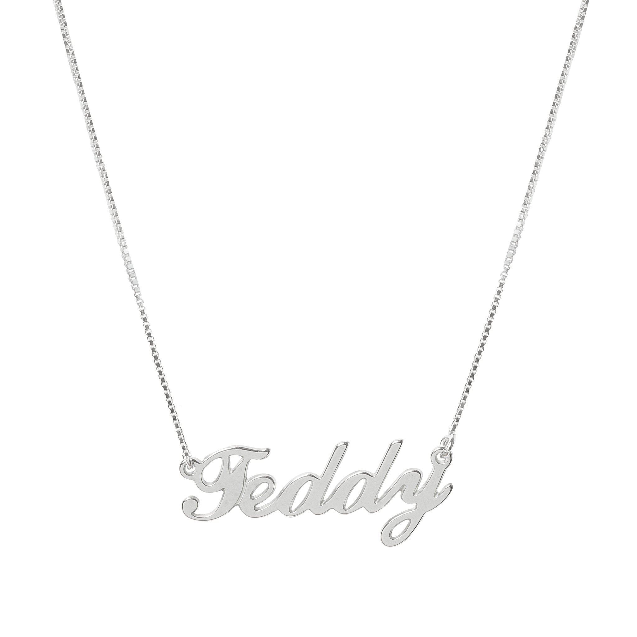 Teddy Name necklace