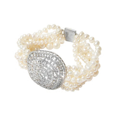 Pearl Diamond Alice Bracelet