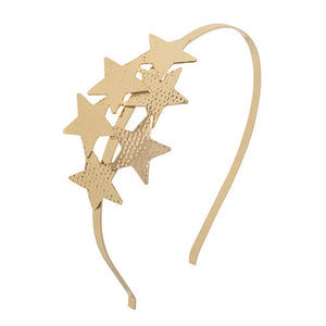 Gold Star Hairband