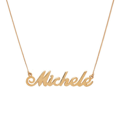 Michele Name necklace