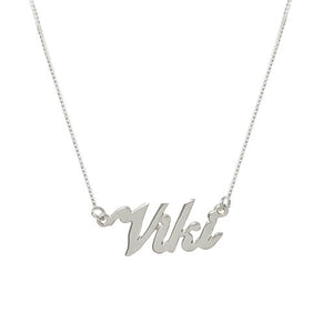 Viki Name necklace