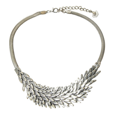 Vintage silver antique Layla necklace
