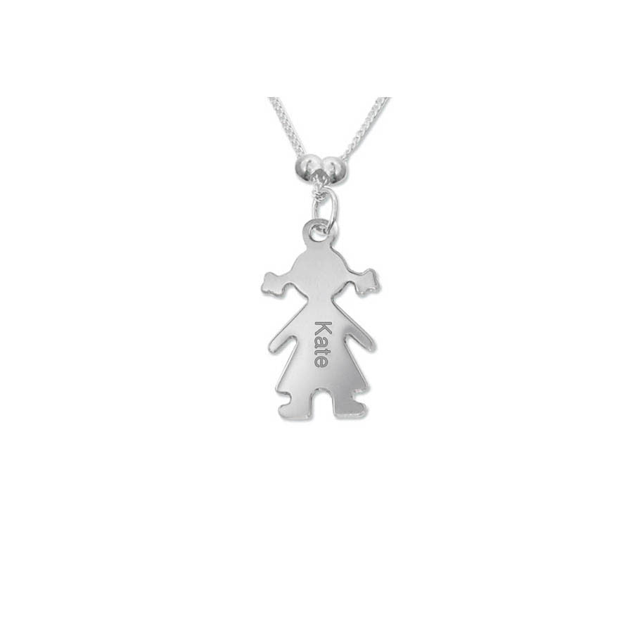 Child Charm Necklace