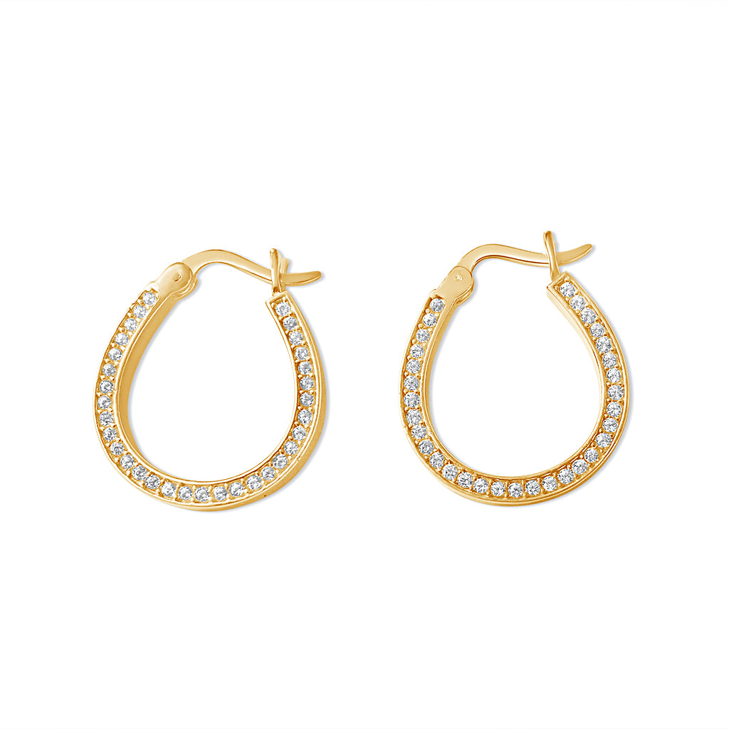 Serendipitous horseshoe earrings