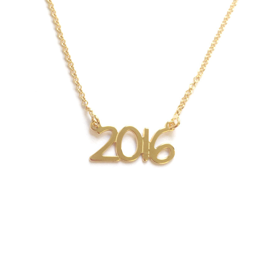 Save the Date Necklace