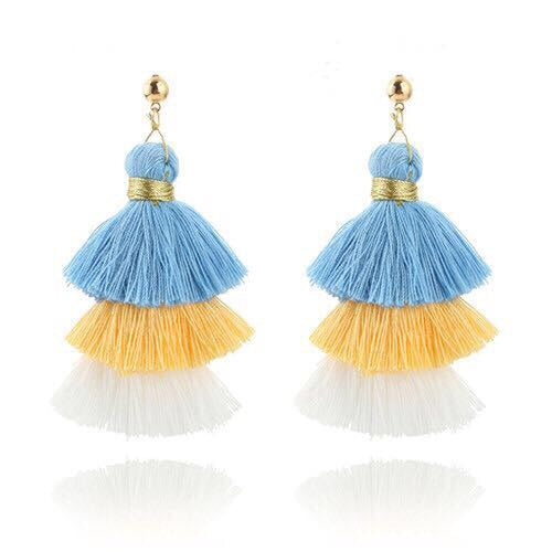 Gina Tassel Earrings