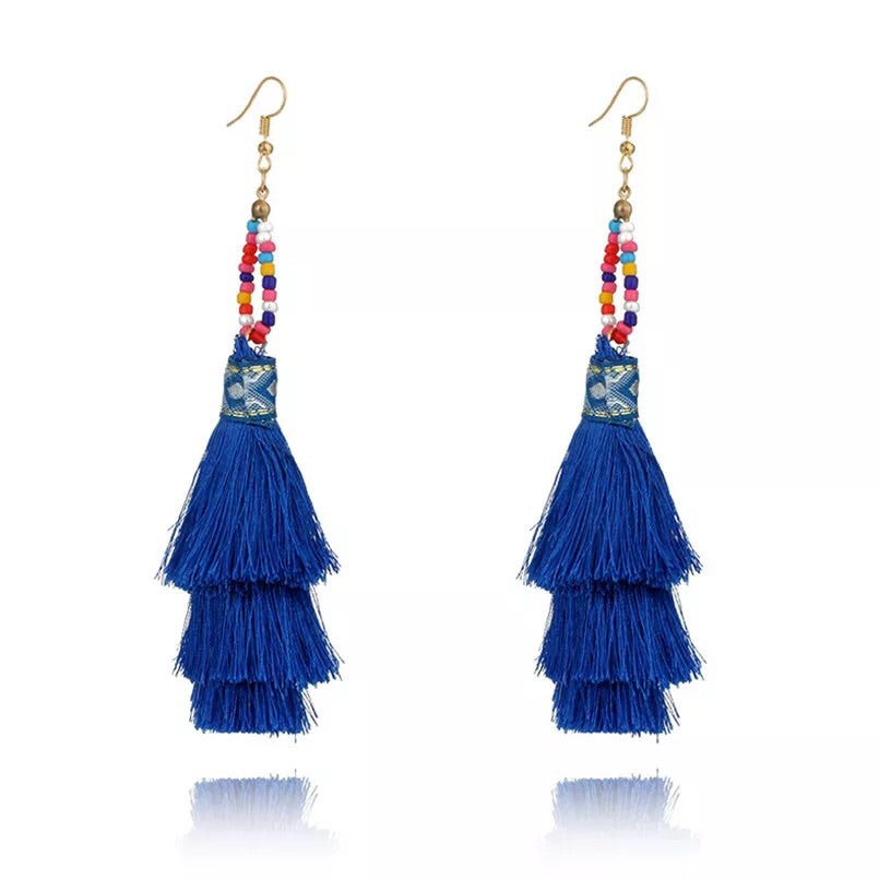 Clara Tassel Earrings