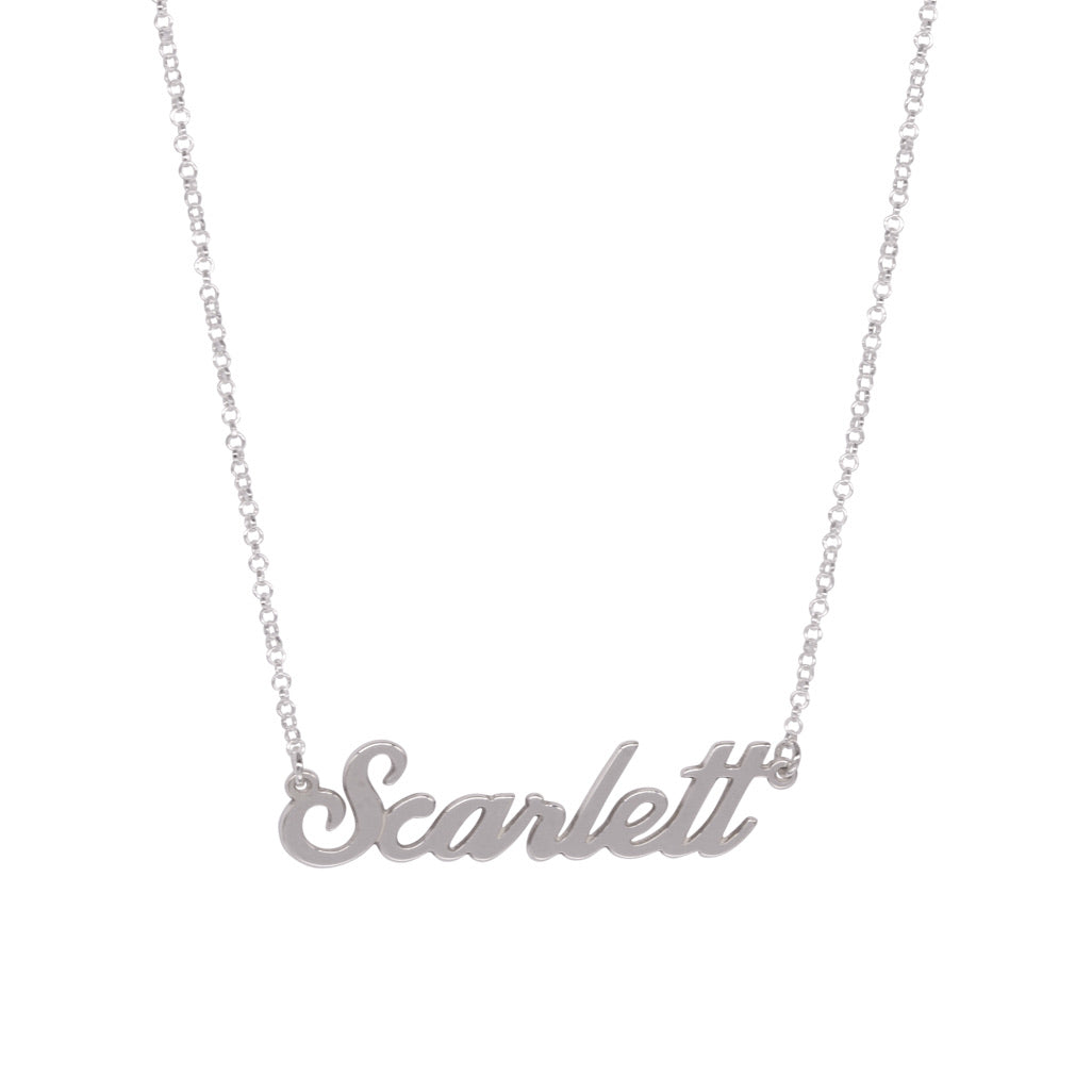 Scarlett Name Necklace