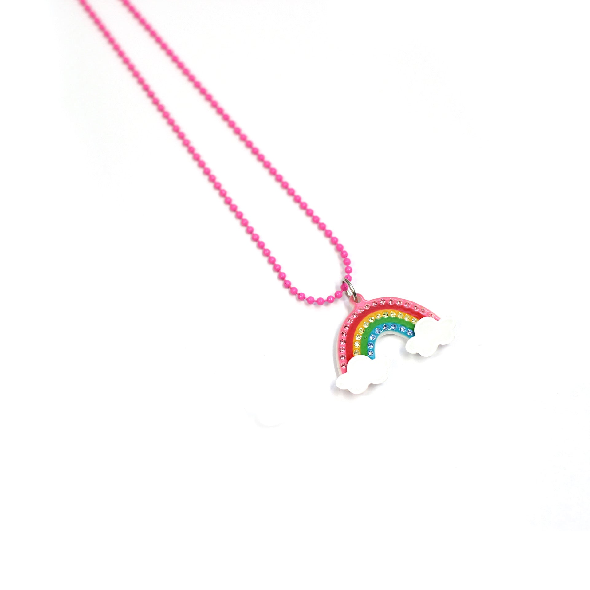 Princess rainbow Necklace