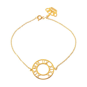 Special Date Circle Bracelet