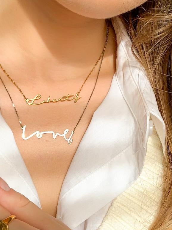Bespoke Name/Word Necklace