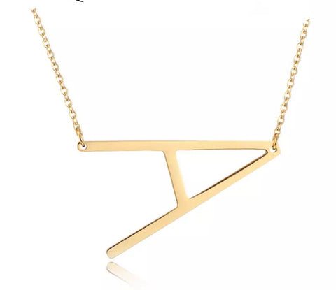 Sideways A Necklace