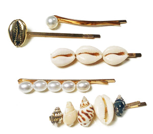 Shell Hairslide Selection