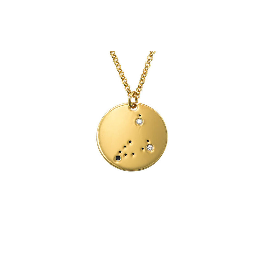 Capricorn Constellation Diamond Necklace