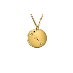 Taurus Constellation Diamond Necklace