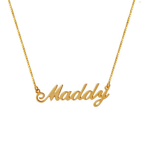 Maddy Name Necklace