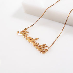 Isabelle Name Necklace