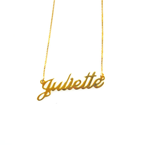 Juilette Name Necklace