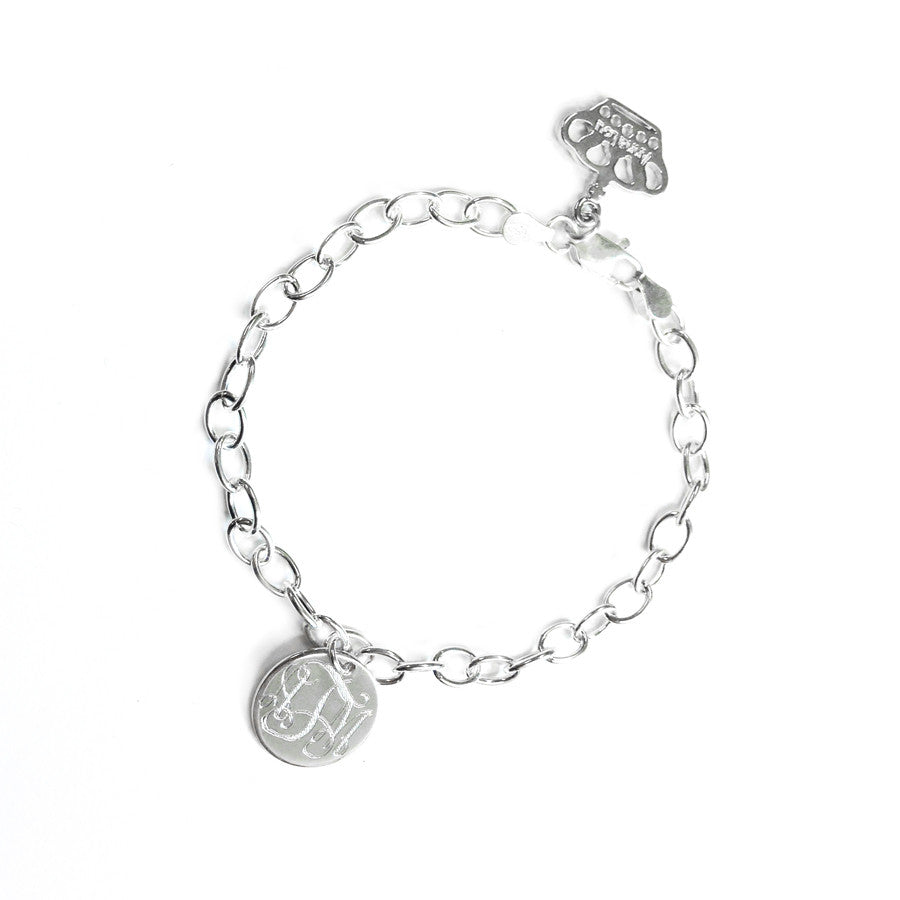 Monogram Statement Anklet