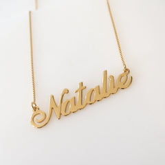 Natalie Name Necklace
