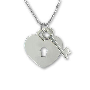 Heart Lock & Key necklace