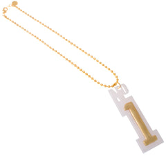 Number 1 Necklace