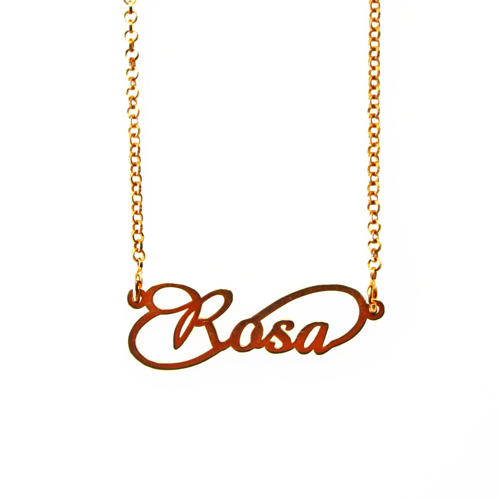 Rosa Name Necklace