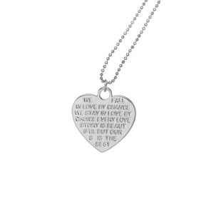 Love Heart Necklace