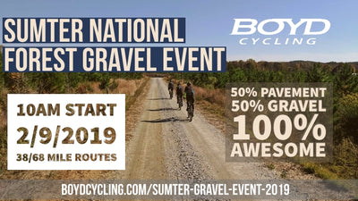 3 weeks left to register for our gravel event!