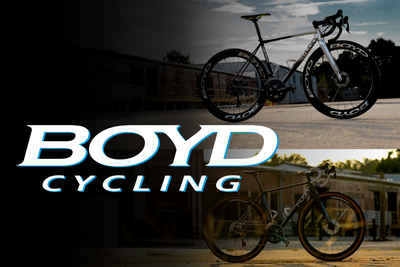 "Nicole & Boyd's T-Lab x Boyd Cycling ""Dream Bikes"""