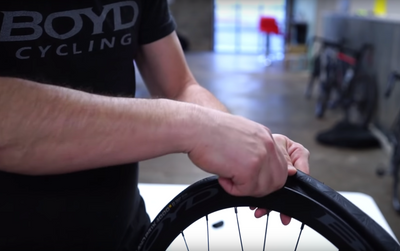 Boyd Cycling - The Tire Mounting Trick!
