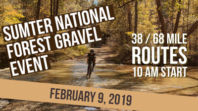 Gravel Event @ Sumter National Forest – 02/09/2019