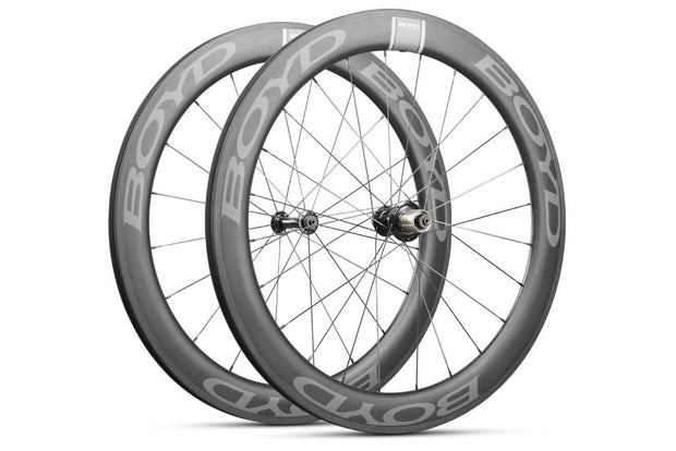 60mm Carbon Clincher Front Wheel