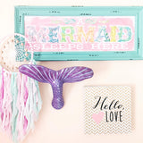 Mermaid Tail Wall Mount