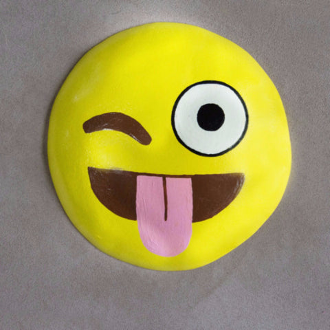 Funny Face Emoji Wall Mount