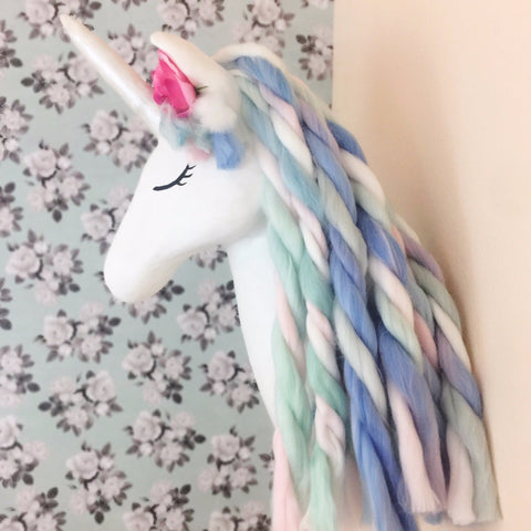 faux taxidermy unicorn, unicorn decor, unicorn nursery, unicorn gift, unicorn party, unicorn baby shower, unicorn wall mount, unicorn head, kids faux taxidermy
