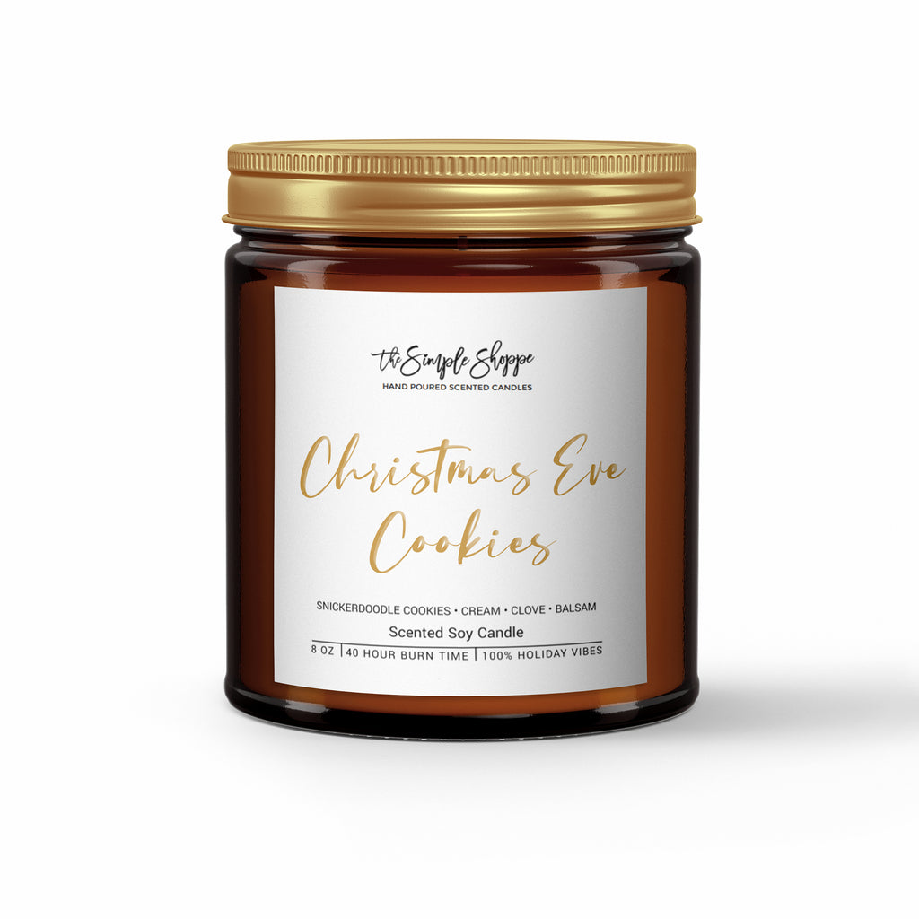 CHRISTMAS EVE COOKIES HOLIDAY SCENTED CANDLE