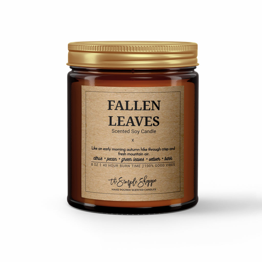 FALLEN LEAVES FALL SCENTED CANDLE