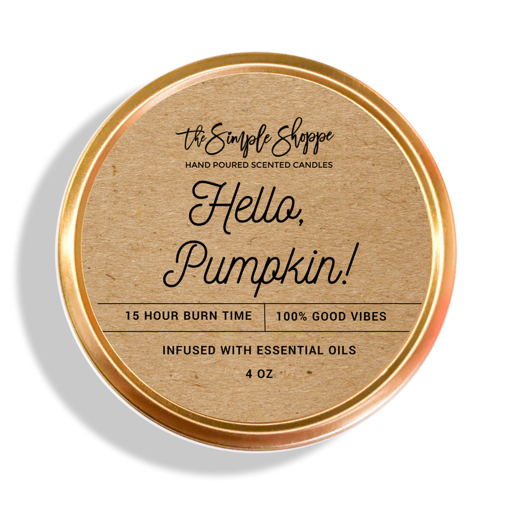 HELLO, PUMPKIN! FALL SCENTED TRAVEL TIN