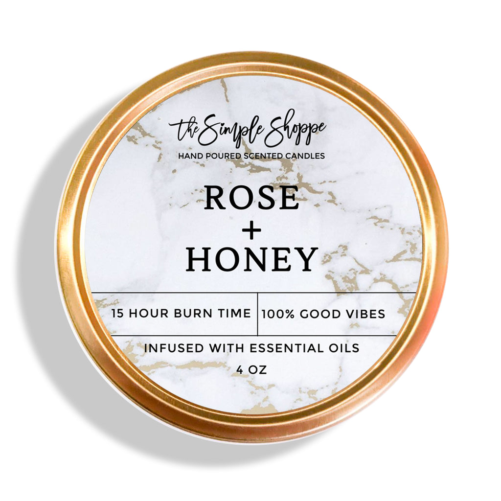 ROSE + HONEY TRAVEL TIN