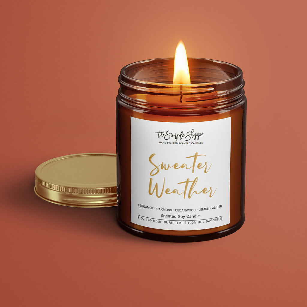 SWEATER WEATHER HOLIDAY SCENTED CANDLE