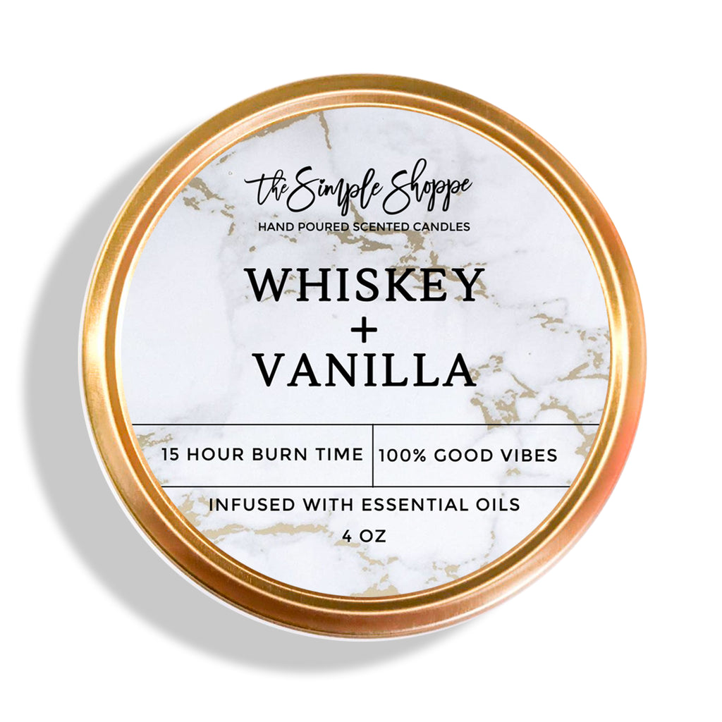 WHISKEY + VANILLA TRAVEL TIN