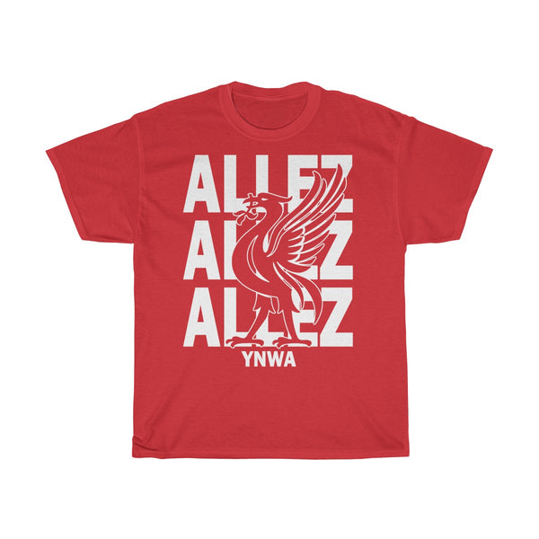 Allez T-Shirt For Liverpool Fans